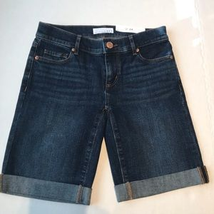 LOFT Made and Loved Bermuda Denim size 00/24